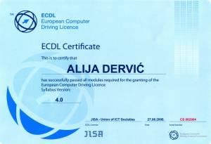 Alija Certifikat 01