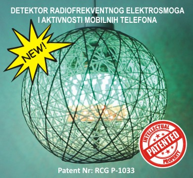 Detektor RF smoga i aktivnosti mobilnih telefona