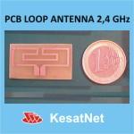 PCB loop anetna za 2.4GHz
