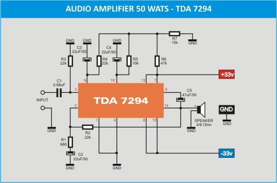 TDA_7294_schematic